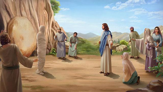 A ressurreição de Lázaro glorifica a Deus.