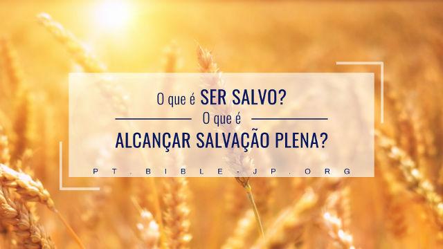 o que é salvação