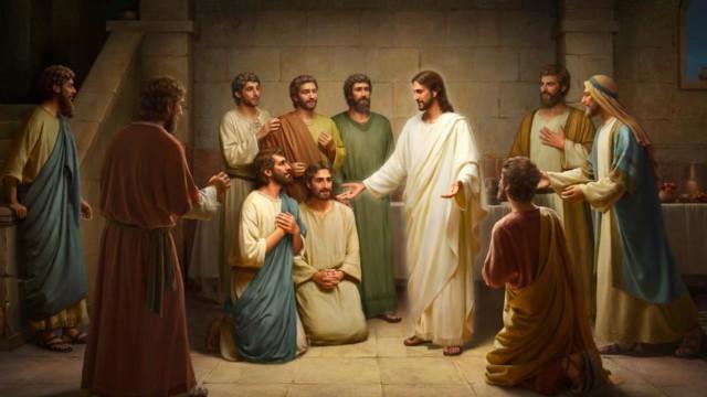 Palavras de Jesus aos Seus discípulos depois da Sua ressurreição