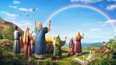 O significado do arco-íris como sinal da aliança entre Deus e o homem