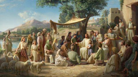 Por que Jesus Cristo falava por parábolas quando estava operando