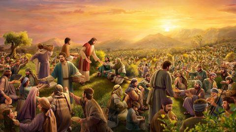 """Por trás de """"cinco pães e Dois peixes"""", quais são os pensamentos do Senhor Jesus exatamente?"""
