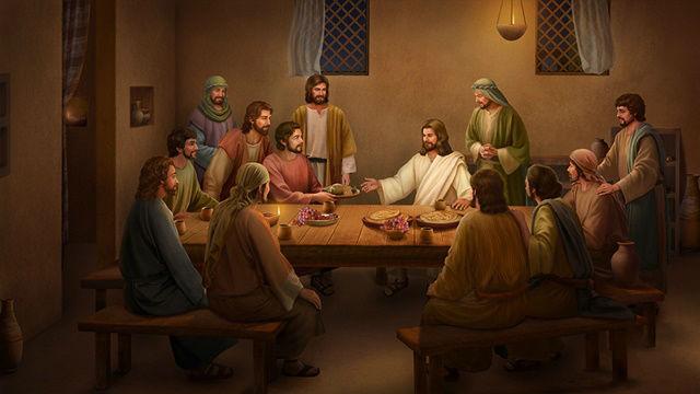 O Senhor Jesus apareceu por quarenta dias depois da Ressurreição