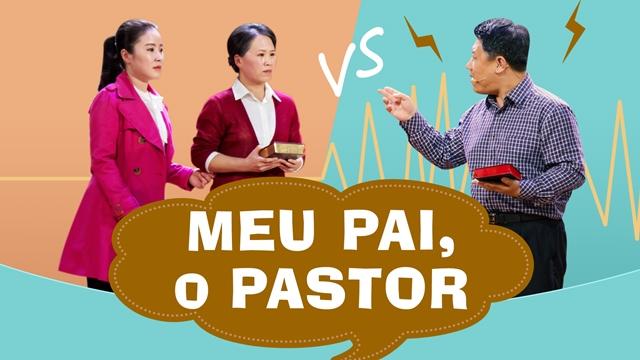"""Esquete """"Meu pai, o pastor"""" Uma questão de Fé"""