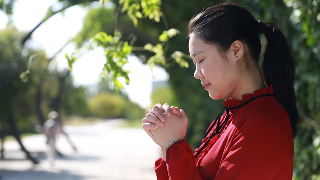 Confiar em Deus e recebendo a direção para seguir