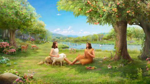 Eden, Adão e Eva