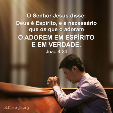 João 4:24 estudo