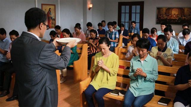 justificados pela fé, Cerimônia de Comunhão Cristã