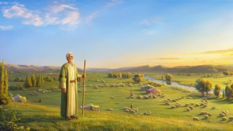 Jó abençoa o nome de Deus e não pensa em bênçãos ou desastre