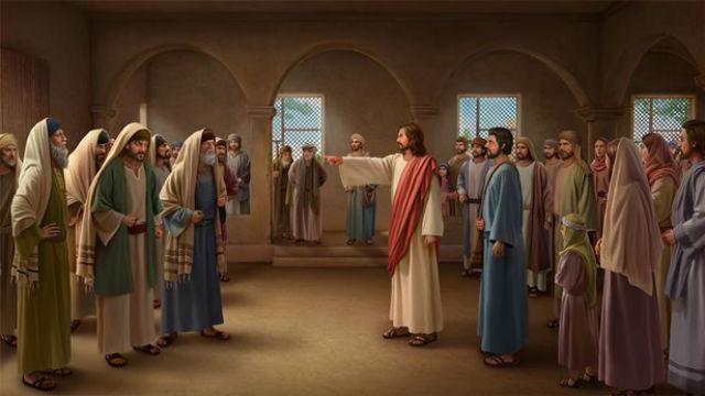 A repreensão de Jesus aos fariseus