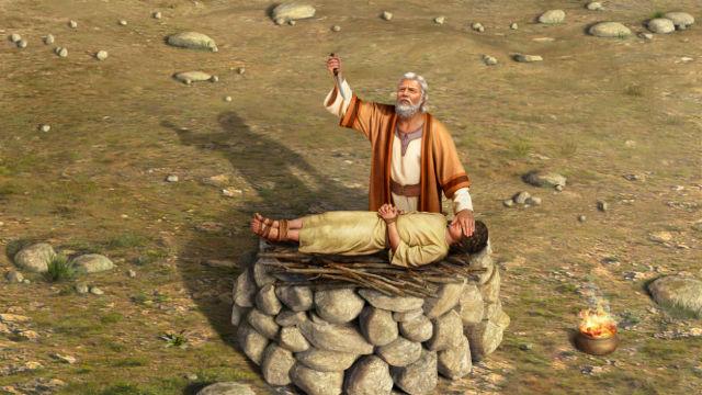 A história de Abraão e Isaque