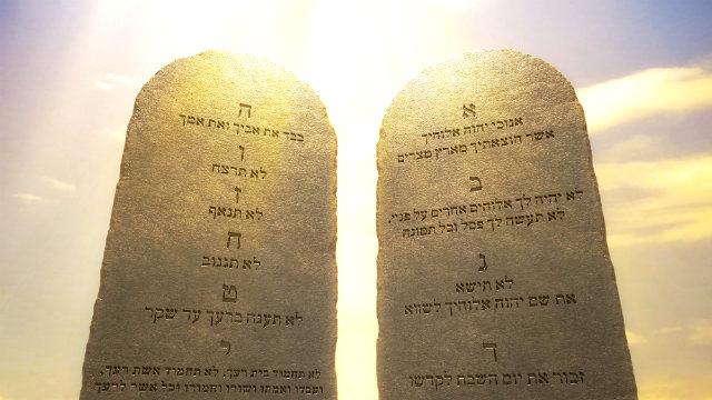 os Dez mandamentos da lei de Deus