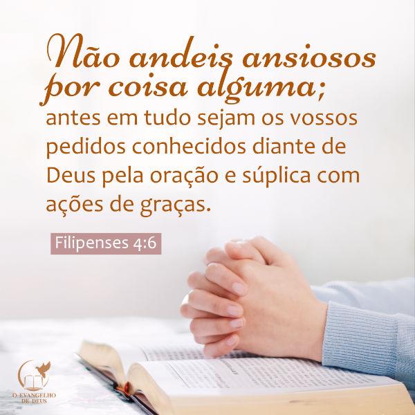 Evangelho filipenses 4 6 7 estudo