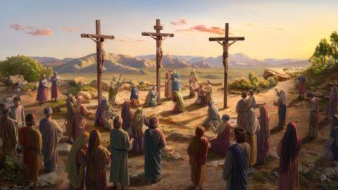 """O que a frase de Jesus na cruz """"está consumado"""" significa?"""