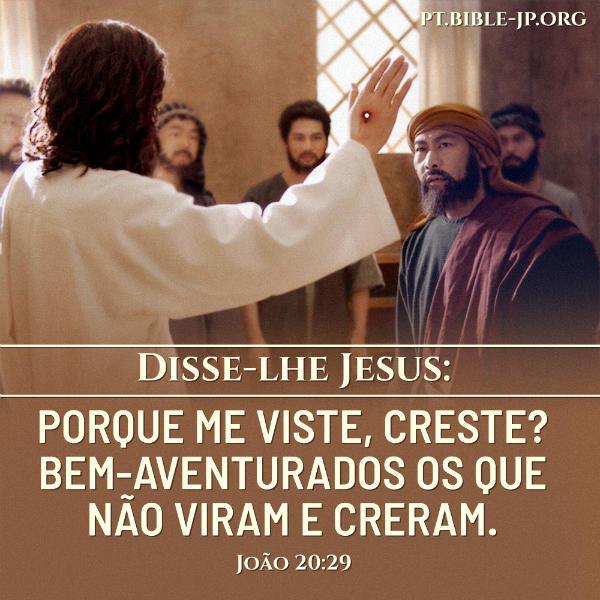 Evangelho João 20:29