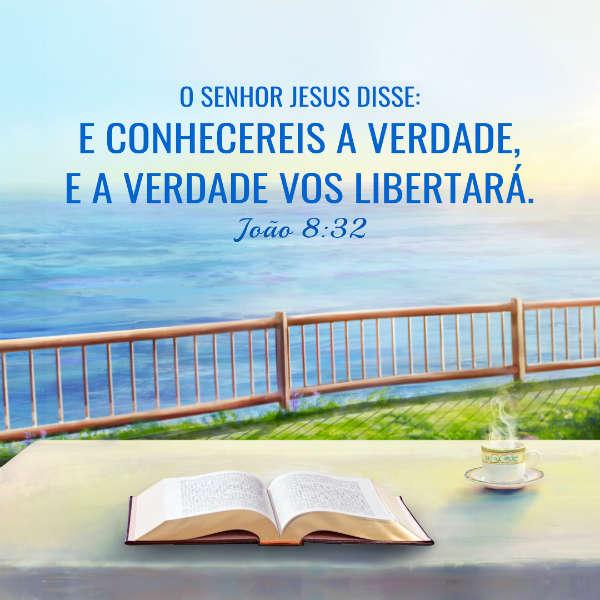 João 8:32 - estudoConhecereis a verdade e a verdade vos libertará