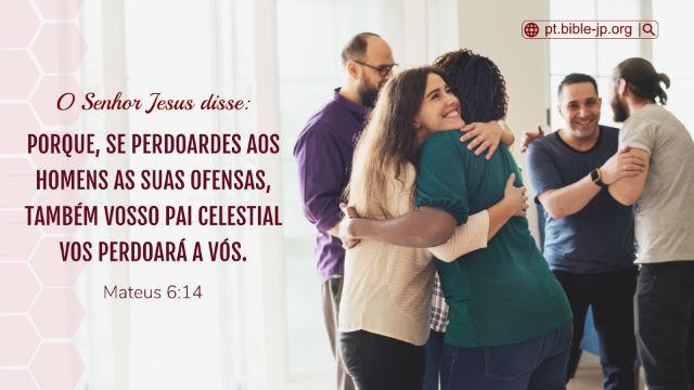 versículos sobre o perdão