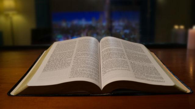 Tudo que está na Bíblia é a palavra de Deus