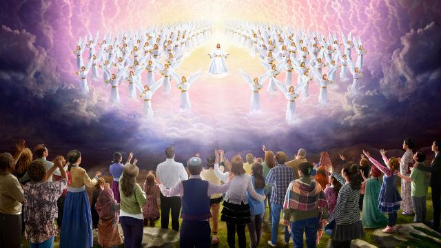 Falando da volta do senhor Jesus: ele virá apenas através das nuvens?