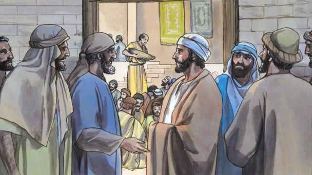 Jesus Chama Mateus