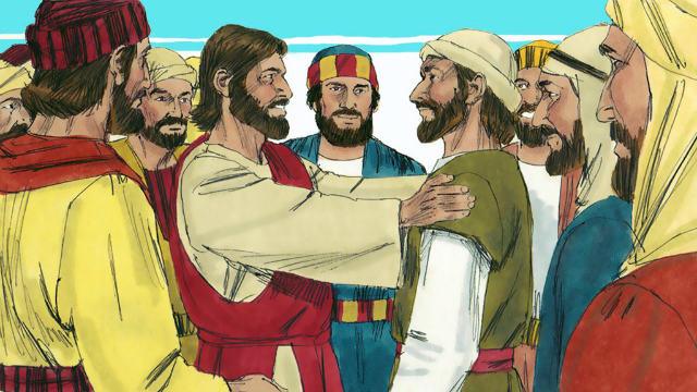 Jesus envia os doze discípulos