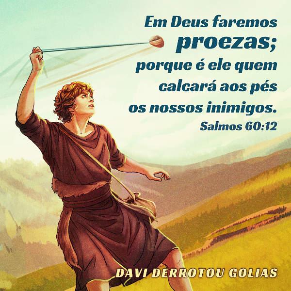 em deus faremos proezas,salmo 60 12