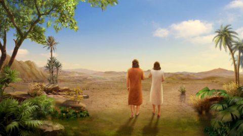 Historias Bíblicas - Adão e Eva são Expulsos do Jardim do Éden