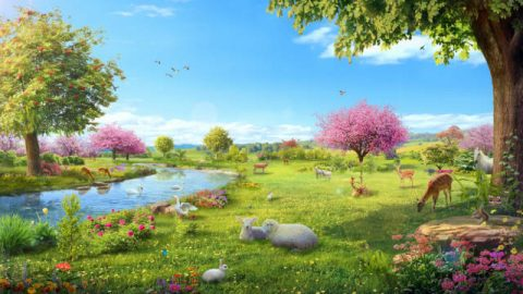 A criação dos Céus e da Terra e de todas as coisas por Deus