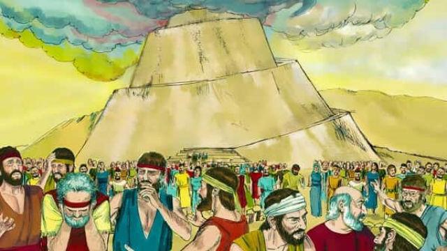 História bíblica - Torre de Babel