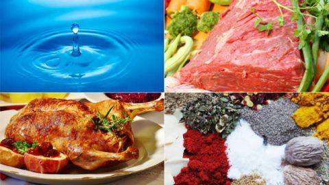 As carnes, as fontes de água e as plantas medicinais que Deus prepara para a humanidade