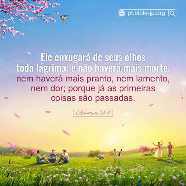 Apocalipse 21:4 estudo - Ele enxugará de seus olhos toda lágrima; e não haverá mais morte, nem haverá mais pranto, nem lamento, nem dor; porque já as primeiras coisas são passadas.