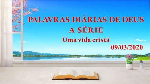 Somente aquele que experimenta a obra de Deus verdadeiramente crê em Deus (Trecho 4)