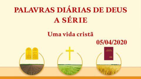 """Palavra de Deus do dia """"A obra na Era da Lei"""" (Trecho 2)"""