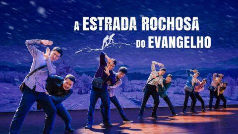 """""""A estrada rochosa do evangelho"""" Teatro musical gospel"""