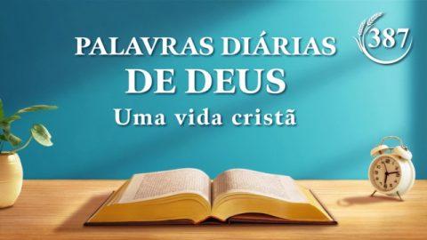"Palavra de Deus do dia ""Declarações de Cristo no princípio: Capítulo 30"" | Trecho 387"