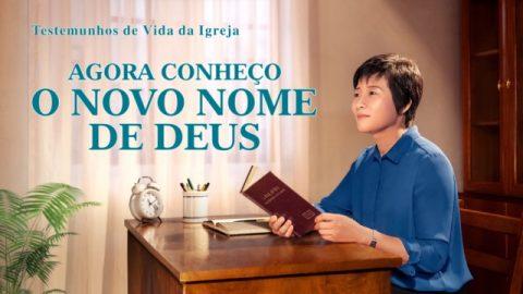 """Testemunho evangélico 2020 """"Agora conheço o novo nome de Deus"""""""