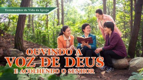 """Testemunho evangélico 2020 """"Ouvindo a voz de Deus e acolhendo o Senhor"""""""